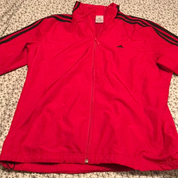 44380a549f0c adidas Other - Red ADIDAS tracksuit jacket